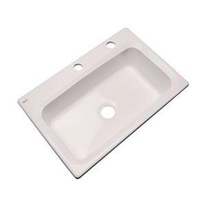 Dekor Ridgebrook 33-in x 22-in Natural Single Bowl Kitchen Sink