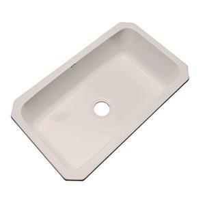 Dekor Brookwood 33-in x 22-in Shell Undermount Kitchen Sink