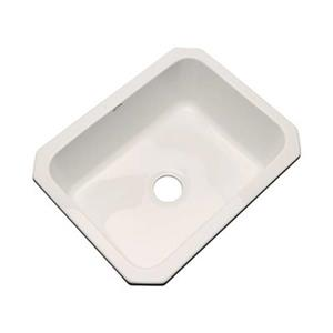 Dekor Princeton 25-in x 22-in Natural Undermount Kitchen Sink