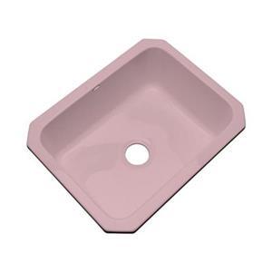 Dekor Princeton 25-in x 22-in Wild Rose Undermount Kitchen Sink