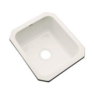 Dekor Master Collection Danforth 22-in x 17-in Almond Undermount Prep Sink