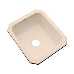 Dekor Master Collection Danforth 22-in x 17-in Peach Bisque Undermount Prep Sink