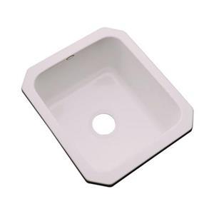 Dekor Master Collection Danforth 22-in x 17-in Innocent Blush Undermount Prep Sink