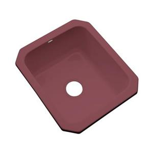 Dekor Master Collection Danforth 22-in x 17-in Raspberry Puree Undermount Prep Sink