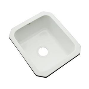 Dekor Master Collection Danforth 22-in x 17-in Ice Gray Undermount Prep Sink