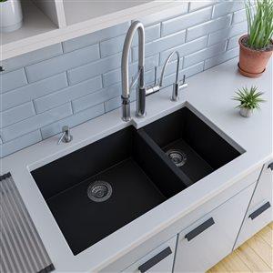 ALFI Brand Brushed Gooseneck Single Hole Faucet
