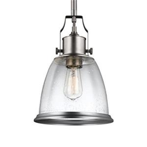 Feiss Hobson Satin Nickel Pendant