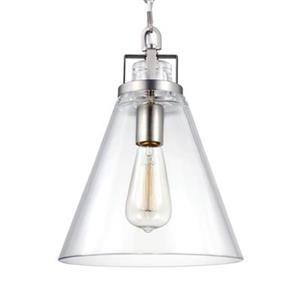 Feiss Frontage Satin Nickel Pendant Light
