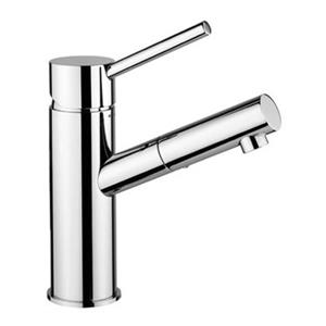 WS Bath Collections Birillo Stainless Steel Wash Basin Mixer