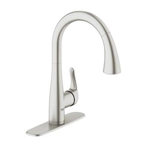 Grohe Elberon Dual Spray Pull-Down Kitchen Faucet,30211DC0