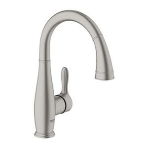 Grohe Parkfield Prep Sink Dual Spray Pull-down Kitchen Faucet