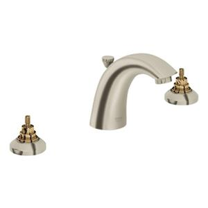 Grohe Brushed Nickel Arden Lavatory Wideset Faucet
