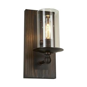 Legno Rustico 1-Light Wall Sconce