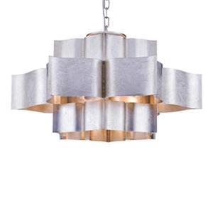 Three Tier Metal Frame Ceiling Pendant