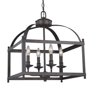 Juliet 4-Light Pendant/Semi Flush Mount