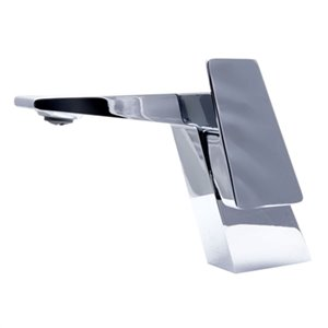ALFI Brand Polished Chrome Modern Single Hole Bathroom Faucet