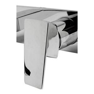 ALFI Brand Polished Chrome Wall Mounted Bathroom Faucet