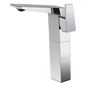 ALFI Brand Polished Chrome Single Hole Tall Bathroom Faucet