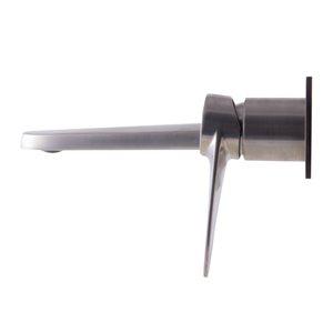 ALFI Brand Brushed Nickel Wall Mounted Modern Bathroom Faucet