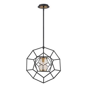 Eurofase Bettino Black Pendant Light