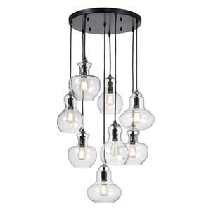 Warehouse of Tiffany Beveen 8-Light Gourde Pendant Light