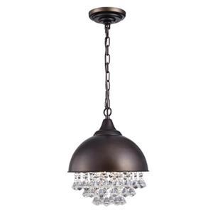 Warehouse of Tiffany Mediana 1-Light Dome Pendant Light
