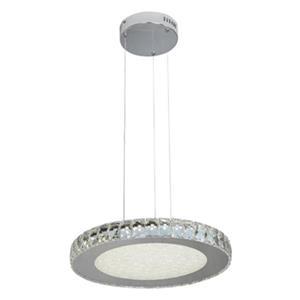 Design Living Stainless Steel LED Crystal Pendant Light
