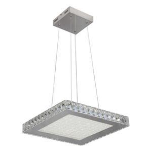 Design Living Stainless Steel Square Crystal Pendant Light
