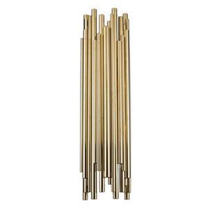 Bethel International 2-Light Steel Rod Wall Sconce