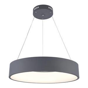 Design Living Gray LED Ring Pendant Light