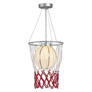 Design Living 47-in Chrome Basketball Pendant Light