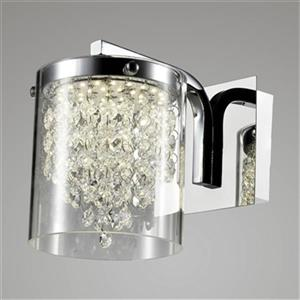 Design Living Glass 1-Light LED Wall Sconce