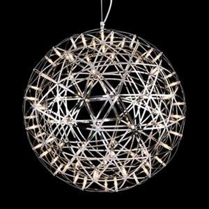 Design Living MN Series Chrome Star LED Pendant Light
