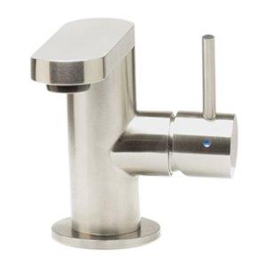 ALFI Brand Ultra Modern Brushed Stainless Steel Bathroom Faucet