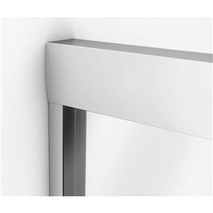 MAAX Aura Tub Door - 59-in - Chrome
