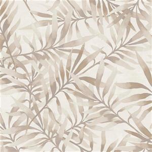 Walls Republic Bronze Ivy/Vines Non-Woven Paste The Wall Tropical Leaf Wallpaper