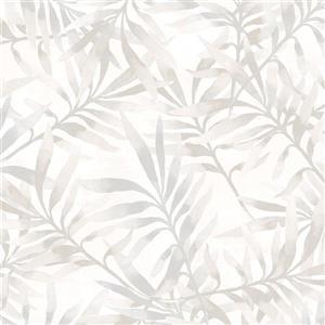 Walls Republic Tropical Leaf Floral Wallpaper
