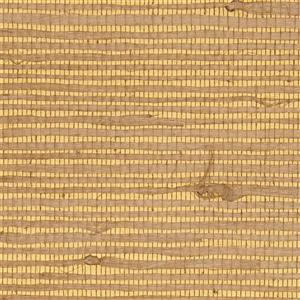 Walls Republic Reflection Brown and Yellow Metallic Grasscloth Wallpaper