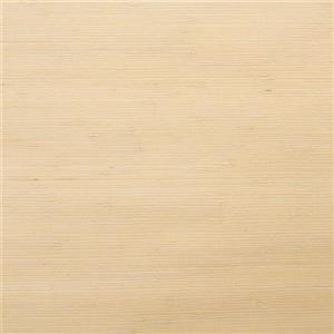 Walls Republic Light Beige/Yellow Knotted Weave Grasscloth Wallpaper