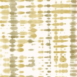 Walls Republic Retro Olive and Beige Tie Dye Abstract Wallpaper