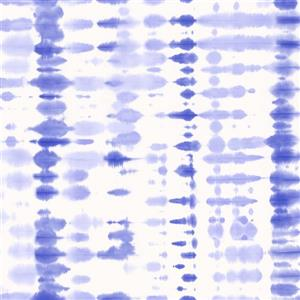 Walls Republic Retro Blue and White Tie Dye Abstract Wallpaper
