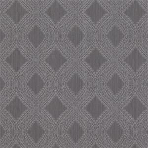 Walls Republic Grey Geometric Non-Woven Paste The Wall Geometric Diamond Weave Wallpaper