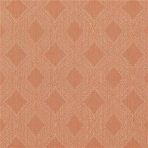 Walls Republic Peach Geometric Non-Woven Paste The Wall Geometric Diamond Weave Wallpaper