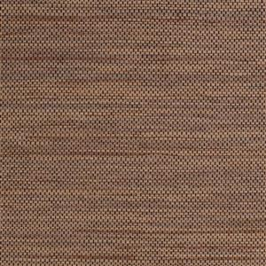 Walls Republic Honeycomb Brown and Black Grasscloth Unpasted Wallpaper