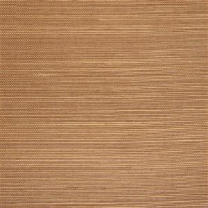 Walls Republic Brown And Beige Grasscloth Non-Woven Paste The Wall Fine Weave Wallpaper