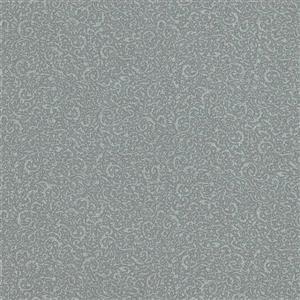 Walls Republic Grey/Grey Classic Swirls Wallpaper