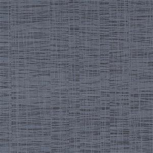 Walls Republic Winded Abstract Linear 57 sq ft Black Unpasted Wallpaper