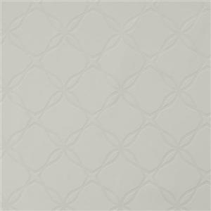 Walls Republic Twisted Geometric 57 sq ft Grey/Gainesboro Unpasted Wallpaper