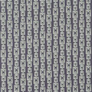 Walls Republic Striped Interlocking Chains 57 sq ft Gray Unpasted Wallpaper