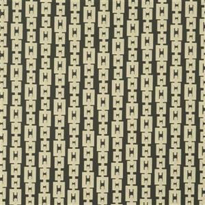 Walls Republic Striped Interlocking Chains 57 sq ft Gold Unpasted Wallpaper
